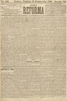 Nowa Reforma. 1888, nr242