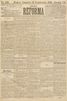 Nowa Reforma. 1888, nr245