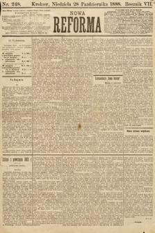 Nowa Reforma. 1888, nr248