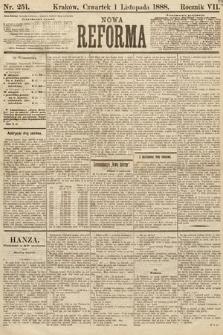 Nowa Reforma. 1888, nr251