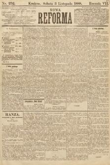 Nowa Reforma. 1888, nr252