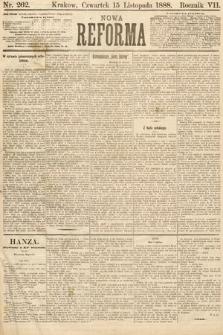 Nowa Reforma. 1888, nr262
