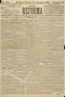 Nowa Reforma. 1888, nr272