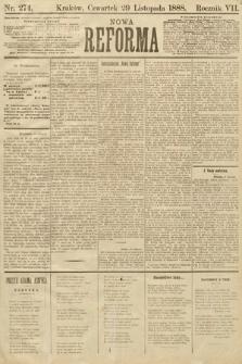 Nowa Reforma. 1888, nr274