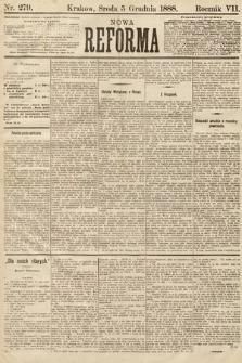 Nowa Reforma. 1888, nr279