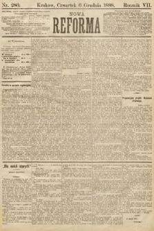 Nowa Reforma. 1888, nr280