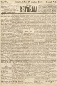 Nowa Reforma. 1888, nr287