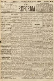 Nowa Reforma. 1888, nr291