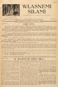 Własnemi Siłami : miesięcznik dla kobiety katolickiej. 1936, nr5
