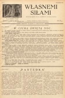 Własnemi Siłami : miesięcznik dla kobiety katolickiej. 1936, nr12