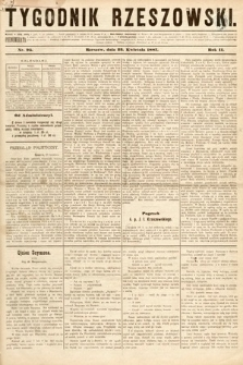 Tygodnik Rzeszowski. R. 3, 1887, nr95