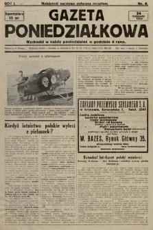Gazeta Poniedziałkowa. 1924, nr6