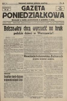 Gazeta Poniedziałkowa. 1925, nr3