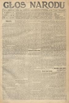 Głos Narodu (wydanie poranne). 1917, nr154