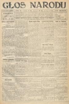 Głos Narodu (wydanie wieczorne). 1917, nr155