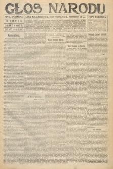 Głos Narodu (wydanie poranne). 1917, nr155