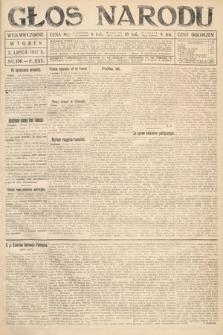 Głos Narodu (wydanie wieczorne). 1917, nr156
