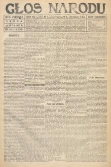 Głos Narodu (wydanie poranne). 1917, nr156