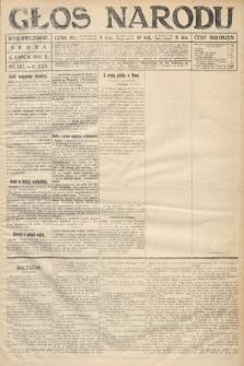 Głos Narodu (wydanie wieczorne). 1917, nr157