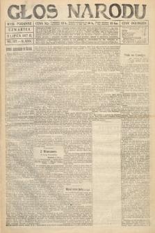 Głos Narodu (wydanie poranne). 1917, nr157