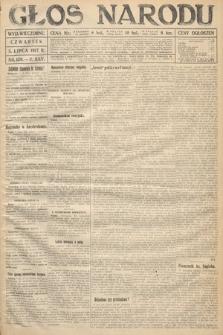 Głos Narodu (wydanie wieczorne). 1917, nr158