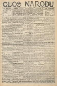 Głos Narodu (wydanie poranne). 1917, nr158