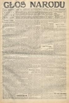 Głos Narodu (wydanie poranne). 1917, nr159
