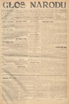 Głos Narodu (wydanie wieczorne). 1917, nr160