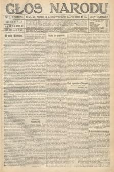 Głos Narodu (wydanie poranne). 1917, nr160