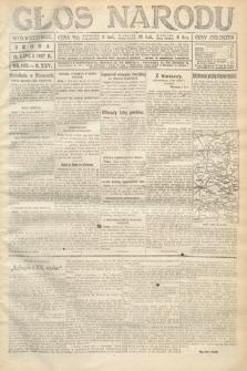 Głos Narodu (wydanie wieczorne). 1917, nr163