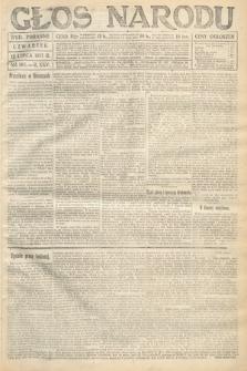 Głos Narodu (wydanie poranne). 1917, nr163