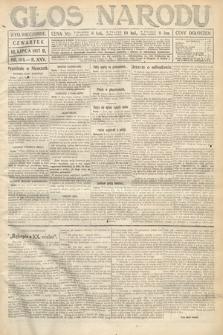 Głos Narodu (wydanie wieczorne). 1917, nr164