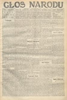 Głos Narodu (wydanie poranne). 1917, nr164