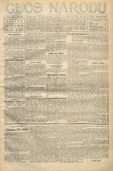 Głos Narodu (wydanie wieczorne). 1917, nr165