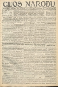 Głos Narodu (wydanie poranne). 1917, nr165
