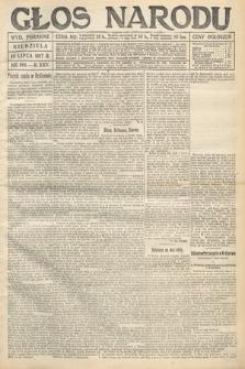 Głos Narodu (wydanie poranne). 1917, nr166