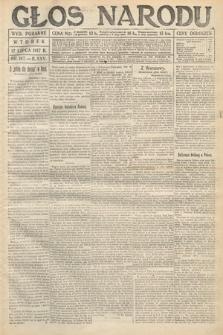 Głos Narodu (wydanie poranne). 1917, nr167