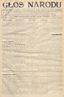Głos Narodu (wydanie wieczorne). 1917, nr168