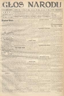 Głos Narodu (wydanie wieczorne). 1917, nr169