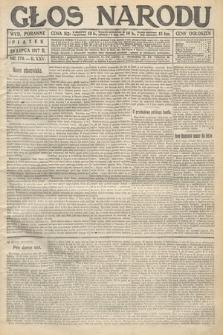 Głos Narodu (wydanie poranne). 1917, nr170