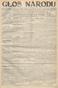 Głos Narodu (wydanie wieczorne). 1917, nr172