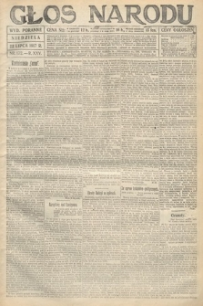 Głos Narodu (wydanie poranne). 1917, nr172