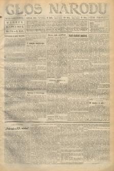 Głos Narodu (wydanie wieczorne). 1917, nr174