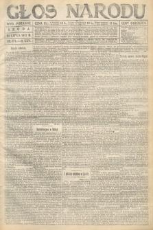 Głos Narodu (wydanie poranne). 1917, nr174