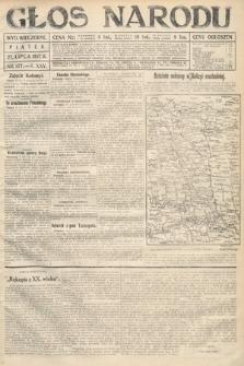 Głos Narodu (wydanie wieczorne). 1917, nr177