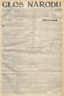 Głos Narodu (wydanie wieczorne). 1917, nr178