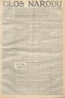 Głos Narodu (wydanie poranne). 1917, nr179