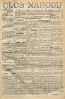 Głos Narodu (wydanie wieczorne). 1917, nr180