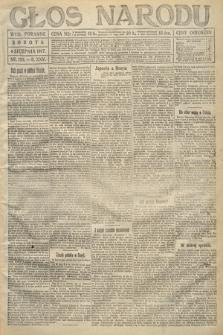 Głos Narodu (wydanie poranne). 1917, nr183
