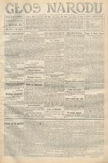 Głos Narodu (wydanie wieczorne). 1917, nr185